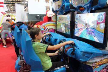 Детские игровые автоматы